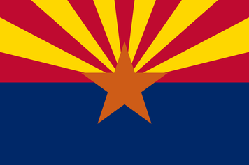 Arizona 3x5 Flag