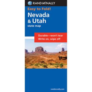 Nevada-Utah Map