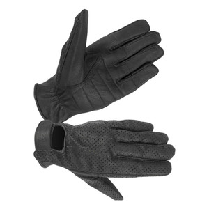 MEN'S UNLINED GOATSKIN LEATHER, QUICK DRY GLOVES WITH GEL PALM