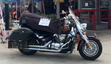 Cycle Shade Motorcycle Covers - protects, cool and improves wear and tear on your motorcycle and accessories.