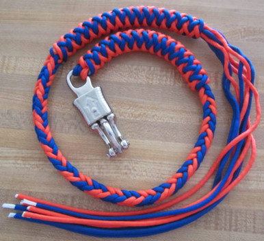 Get Back Whip Blue and Orange