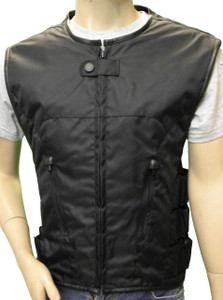 Black Textile Tactical Vest
