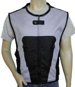 Gray Textile Tactical Vest