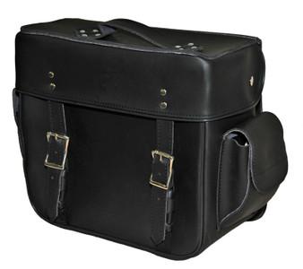 Medium 2 Strap Plain Sissy Bar Bag