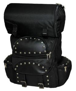 Medium Studded Backpack Sissy Bar Travel Pack