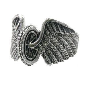 Ladies Wing Wheeled Ring
