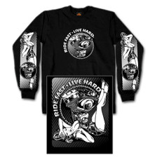 Motor Pinup Long Sleeve Shirt