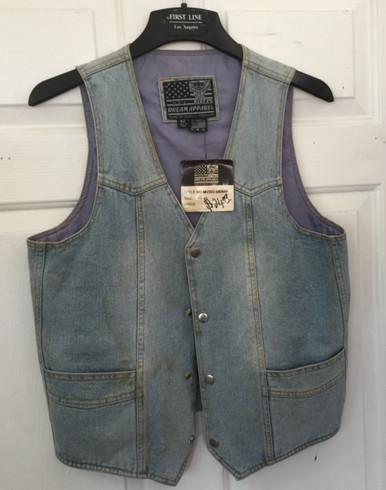 Light Blue V-Neck Vest