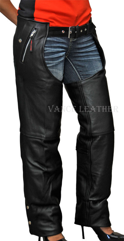 Chap leather naked