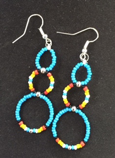 Navajo Bead Earrings