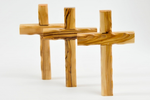 Comfort cross holding palm clinging crosses small pocket for Cross in my pocket craft