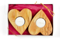 Heart Shaped Tea Candle Holder (Gift Pack)