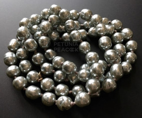 CHANEL BAROQUE GRAY PEARL NECKLACE