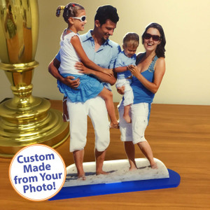 Double-Sided Statuette - 8 x10 - Matte Finish