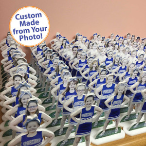 Custom Acrylic PhotoStatuettes, Photo Statues, Photo Cut Outs, Photo Cutouts,  Photo Sculptures, Photo Gifts, Centerpieces