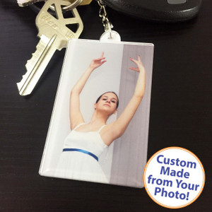 Acrylic Photo Keychain - Square/Rectangle - High Gloss