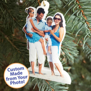 "Acrylic PromoOrnaments© - Thick 1/4"" Matte Finish"