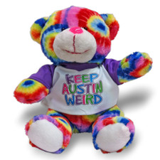 austiNuts Keep Austin Weird Plush Teddy Bear