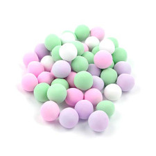 austiNuts Chocolate Dutch Mints consist of a peppermint center covered in a crispy, pastel colored chocolate outer shell. Colors include Pink, Mint Green, Lavender and White. Great for party favors or to add to your candy dish!  Price per 1lb.