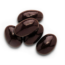 austiNuts Dark Chocolate Almonds are Perfect for Dark Chocolate Lovers!  Contains: Dark Chocolate, Cocoa, Butter, Almonds, and Sugar     Price per 1lb.