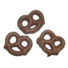 austiNuts Milk Chocolate Pretzels have a creamy sweetness outside, salty crunch inside-pure heaven!  Price per 1lb.