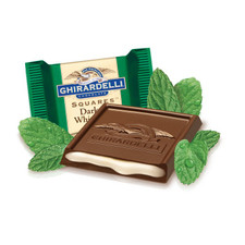 austiNuts carries Ghirardelli® Dark Chocolate Mint Squares to help you complete your perfect gift basket, care package, or if you are just in the mood for chocolate.  Savor the perfect combination of tantalizingly refreshing mint filling surrounded by intense dark chocolate. Dark & Mint SQUARES make a sweet treat for all the chocolate lovers in your life and show you've got great taste.
