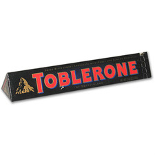 austiNuts carries Toblerone® Swiss Dark Confection with Honey & Almond Nougat to help you complete your perfect gift basket, care package, or if you are in the mood for great quality chocolate.  Snap off a chunk of Toblerone triangle piece and enjoy its terrific smooth chocolate taste!
