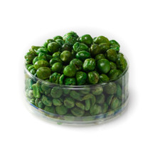 austiNuts Fried Green Peas from Arcade Snacks are super-crunchy and lightly salted, a great snack for the health conscious crowd.