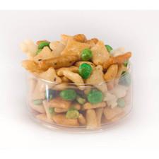 austiNuts Fun Fun Fun! It tastes like its sounds!   Contains: Rice Crackers, Fried Green Peas, Chili Bits