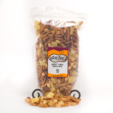 austiNuts has created the perfect combination of Sweet & Healthy! Sweet Times Snack Mix helps you satisfy that sweet tooth without all the calories!  Contains: Honey Sesame Sticks, Honey Dry Roasted Peanuts, Dried Pineapple, Honey Dry Roasted Sunflower Kernels, Dry Roasted Almonds