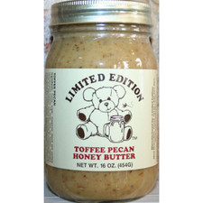 austiNuts carries Limited Edition® -  Toffee Pecan Honey Butter to help you complete your perfect gift basket, care package, or if you are looking for a great quality Texas product.