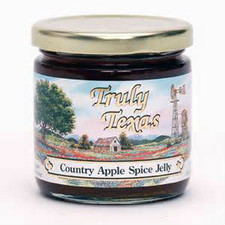 austiNuts carries Truly Texas® - Apple Spice Jelly to help you complete your perfect gift basket, care package, or if you are looking for a great quality Texas product.