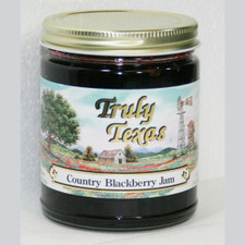 austiNuts carries Truly Texas® -  Country Blackberry Jam to help you complete your perfect gift basket, care package, or if you are looking for a great quality Texas product.