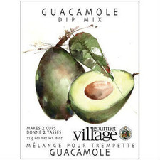austiNuts carries Gourmet du Village Guacamole Dip Mix to help you customize care packages, build baskets, or when you are making dip for your next party!