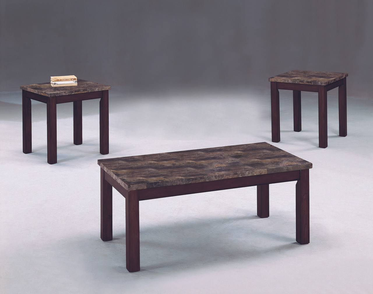 3 Pc Coffee End Tables American Clearing House Furniture