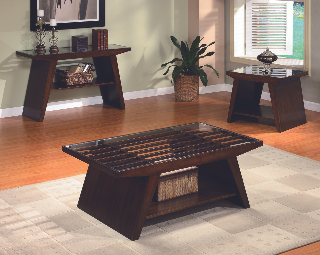 Midori Coffee End Tables Clearinghouse Furniture