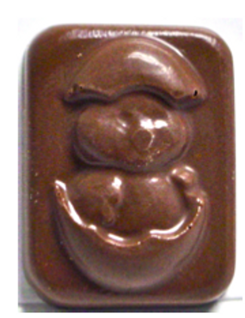 "1 inch Sugar Free ""Duck Hatching"" Chocolate Bite, .3 oz"