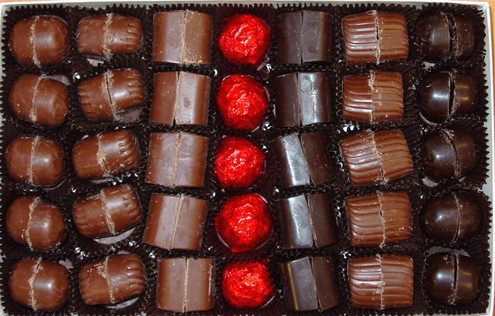 "Sugar Free Truffles, Our Finest Assortment 18 oz, Packed our ""SOLID BRICK"" way!"