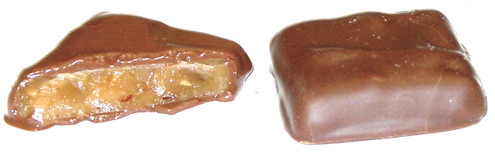 Diabeticfriendly's PECAN Butter Toffee Covered in Chocolate - Sugar-Free 1 pound
