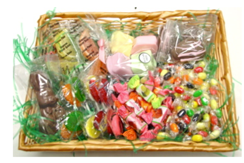 Sugar free diabetic friendly easter gift basket sugar free diabetic friendly easter gift basket negle Images