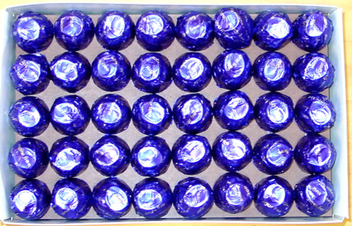 Dark Chocolate Cherry Cordials, Gold Gift Boxed - Sugar-Free 40 pcs (about 1.25 lb+)