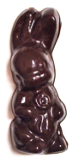 5 inch Sugar-Free Solid Chocolate Easter Bunny 3.5 oz