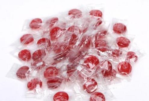 eda's sugar free cherry hard candy