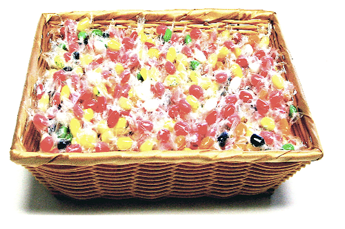Sugar free fruit slices gift basket sugar free jelly bean gift basket filled with 2 lbs of sugar free jelly belly jelly beans individually wrapped kosher negle Images