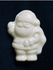 Mini White Chocolate .4 oz Sugar Free Santa, Individually Wrapped