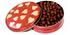 6 Inch Design Tin, filled w/Sugar-Free Gourmet Caramels Chews (about 7 oz)