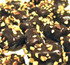 Sugar Free Chocolate Covered Banana Taffy with Fresh Roasted Salted Almonds 8 oz Mylar