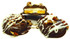 """Sugar Free Milk Chocolate """"3-Ways"""". Buttercream, Chocolate & Shortbread Cookie, coated in Milk Chocolate (all SF) & topped with Pecans, Drizzled with SF White Chocolate  about 1.2 lbs"""