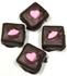 Sugar Free Chocolate Covered Marshmallows w/Valentine's Motiff  4 pack