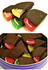 """Hand Dipped"" Chocolate Covered Fruit Slices, Sugar Free, 21 Slices (21.7 oz) Gift Tin"